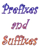 Prefixes and Suffixes- Explanation and Review