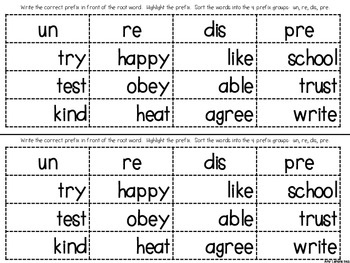 It is a graphic of Accomplished Prefixes and Suffixes Printable Games