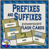 Prefixes and Suffixes Flashcard PowerPoint