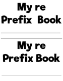 Prefixes and Suffixes Flip Book