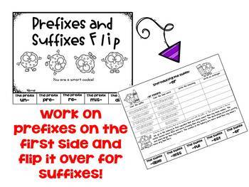 Prefixes and Suffixes for Third Grade