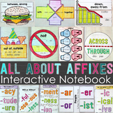 Prefixes and Suffixes Interactive Notebook