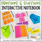 Prefixes and Suffixes Interactive Notebook