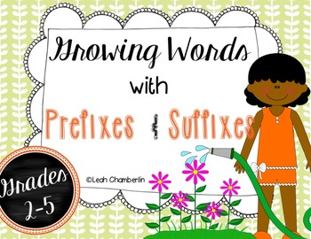 Prefixes and Suffixes Learning Packet