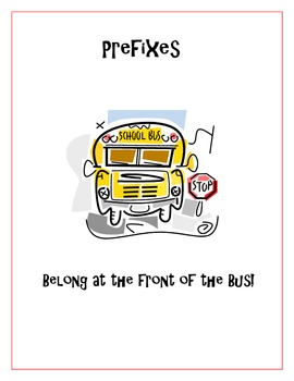 Prefixes and Suffixes Lesson
