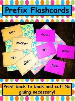 Prefixes and Suffixes MEGA PACK!