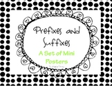 Prefixes and Suffixes Poster Freebie