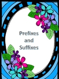 Prefixes and Suffixes Practice