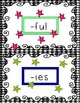Prefixes and Suffixes Sort Grades 2-3