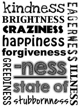 Prefixes and Suffixes: Subway Art Posters