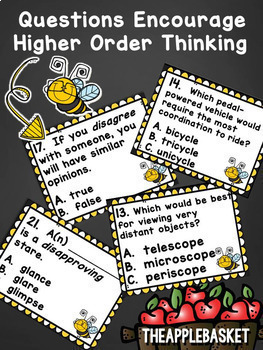 Prefixes and Suffixes Task Card Bundle for Grades 3-4