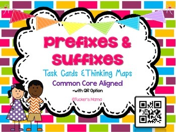 Prefixes and Suffixes Task Cards