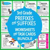 Prefix & Suffix Activities & Task Cards Bundle – 3rd Grade Language Practice