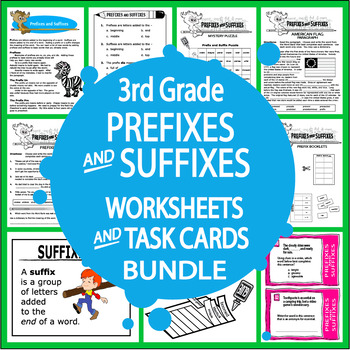 Prefixes and Suffixes Activities