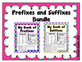 Prefixes and Suffixes - Two Student Books, Match and Word Cards