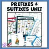 Prefixes and Suffixes Activities: Games, Task Cards, Bingo