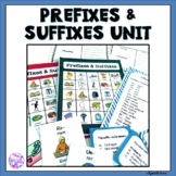 Prefixes and Suffixes Activities Games, Task Cards, and Bingo