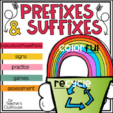 Prefixes and Suffixes Unit from Teacher's Clubhouse