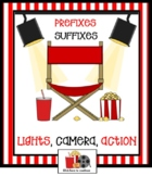 Prefixes and Suffixes Lights, Camera, Action SMARTBOARD