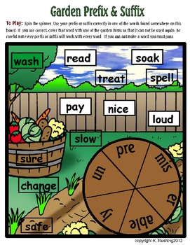 Prefixes and Suffixes - Applying Knowledge