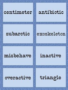 Prefixes made easy!
