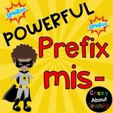 Prefixes mis- & non-