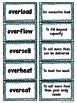 Prefixes over- under-