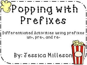Prefixes re-, pre-, un-