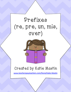 Prefixes (re, pre, un, mis, over)