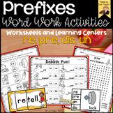 Prefixes- re, un, pre, dis