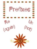 Prefixes (un and re unit)