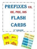 Prefixes un, re, pre, dis Clash cards 2nd Grade Reading Street