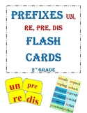 Prefixes un, re, pre, dis Clash cards 2nd Grade Reading Street