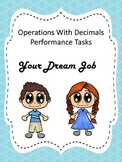 Multiplying and Dividing Decimals: Preformance Task
