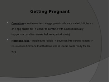Pregnancy and Contraception