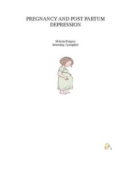 Pregnancy and Post Partum Depression