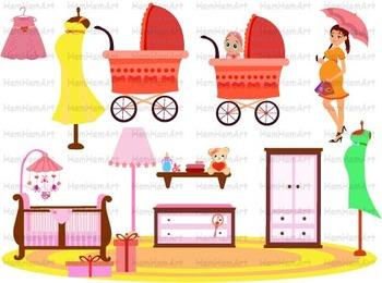 Pregnant Woman school Clip Art pregnancy mom to be mommy Super Hero school -070-