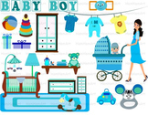 Pregnant Woman Teacher school Clip Art toy party birthday baby super hero  071