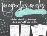 Preguntas Orales - Spanish Verbal/Oral Questions