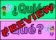Preguntas * Preguntas * Preguntas