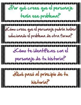 Preguntas de Comprension - Reading Questions