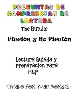 Preguntas de Comprension - Reading Questions