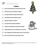 Preguntas de navidad
