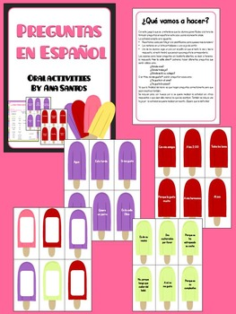 Preguntas en Español- Spanish oral activity