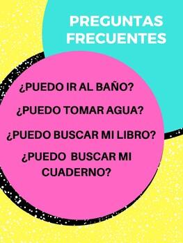 Preguntas frecuentes Poster
