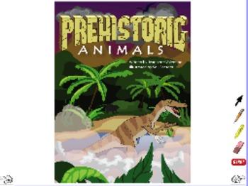 Prehistoric Animals - ActivInspire Flipchart - Interactive Big Book