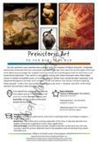 Prehistoric Art Activity: Art History info Sheet, Practice