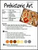 Prehistoric Art : Art Lesson Plan