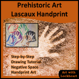 Prehistoric Art Lascaux Handprints