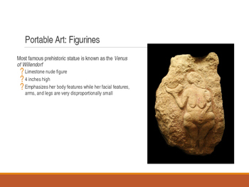 Prehistoric Art: Paleolithic and Neolithic Art